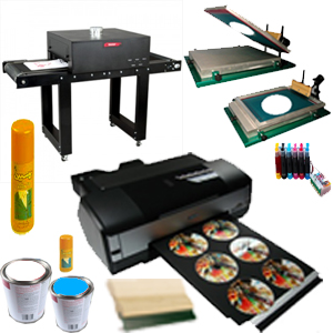 دستگاه های چاپ سیلکدستگاه چاپ تمام اتو ماتیک چاپ سی دی ترکیبی 4 رنگ